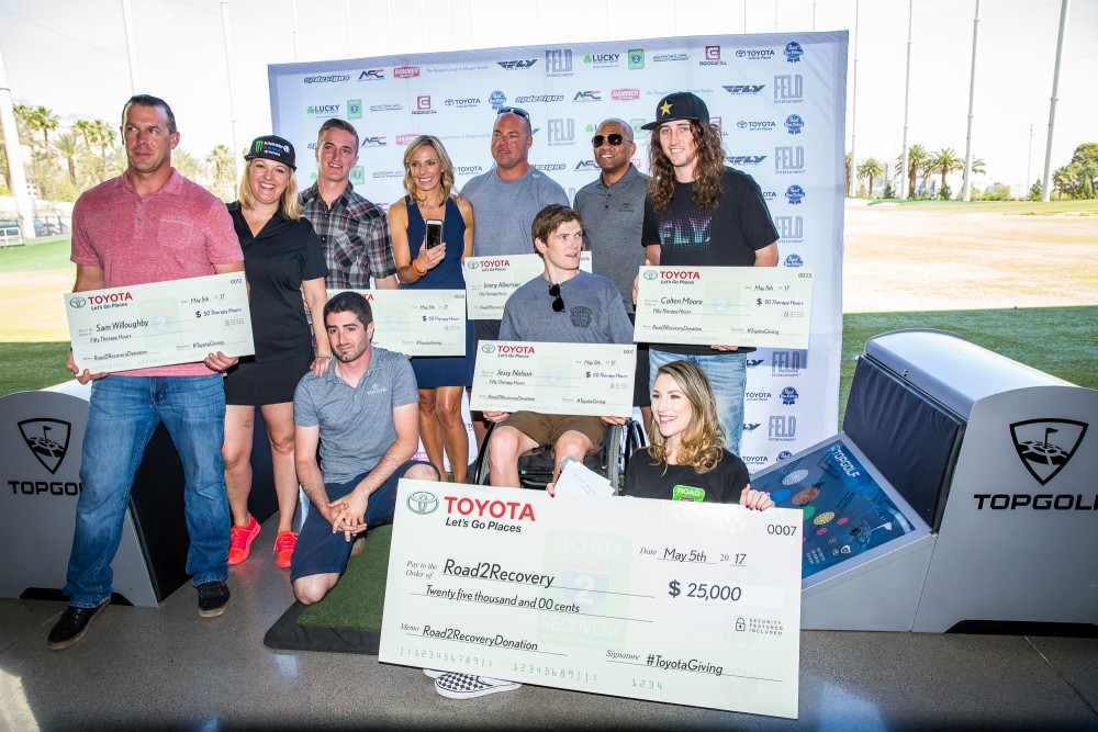 Road 2 Recovery Top Golf Tournament