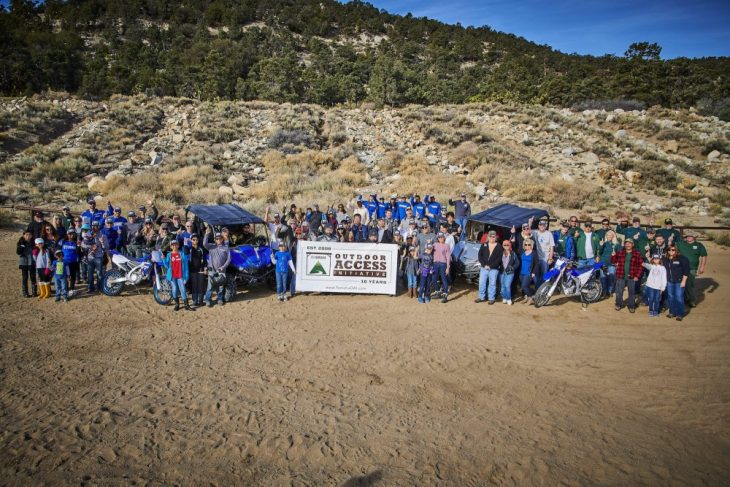 Yamaha Hosts Outdoor Access Event