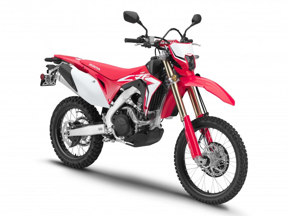 2019 honda crf450l first look cycle news. Black Bedroom Furniture Sets. Home Design Ideas
