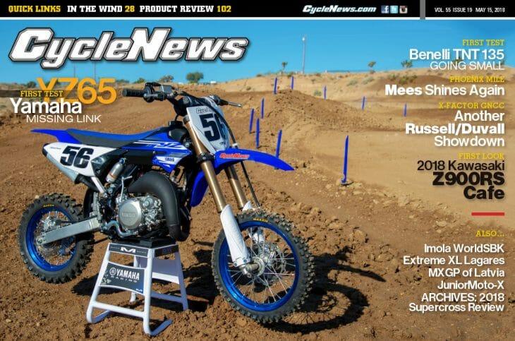 Cycle News Magazine #19: YZ65 First Ride, Phoenix Mile, X-Factor GNCC...