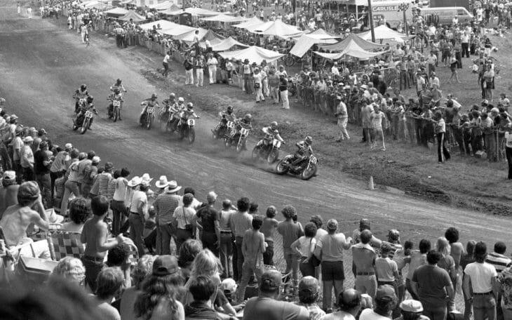 Wayne Rainey at the 1981 Peoria TT National