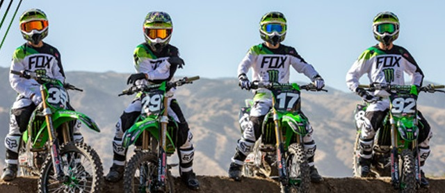 Monster Energy Pro Circuit Kawasaki MX Team