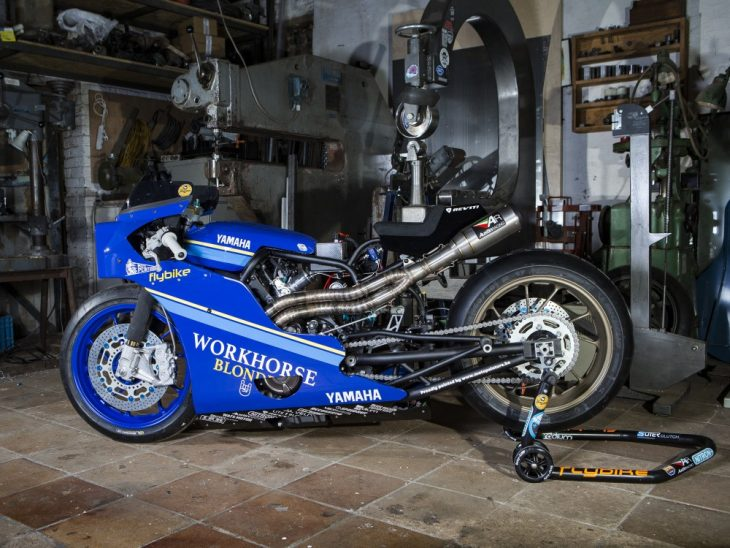 Workhorse Speed Shop Yamaha XSR700 Custom