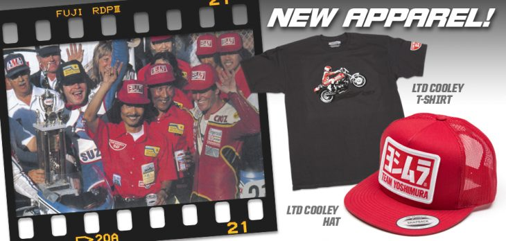 Yoshimura R&D Wes Cooley Throwback Apparel