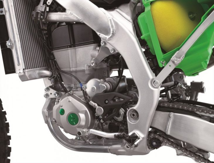 Finally, Kawasaki put a hydraulic clutch on a Japanese motocrosser.