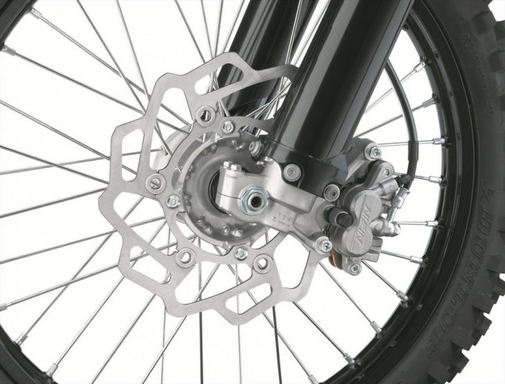 Stronger front brake for the 2019 KX450F