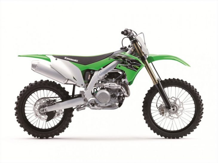 The 2019 Kawasaki KX450F is truly all new with updates to its engine, chassis, suspension and more.