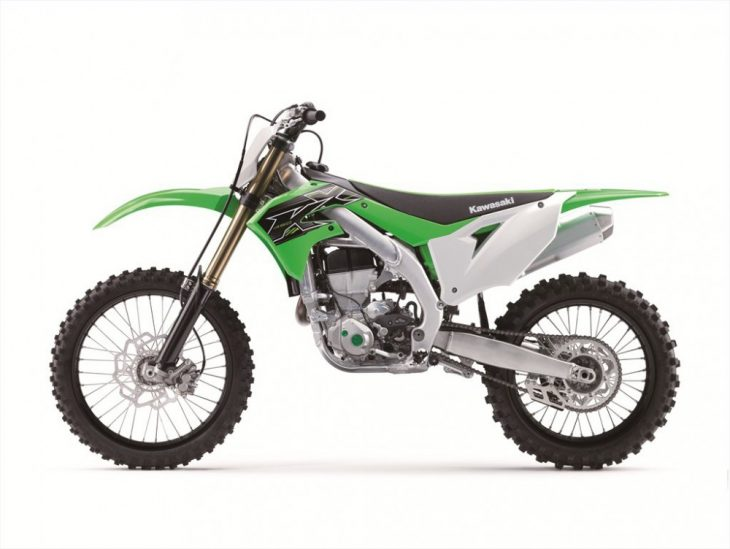 Plenty of changes for the 2019 Kawasaki KX450F will excite motocross riders and racers.