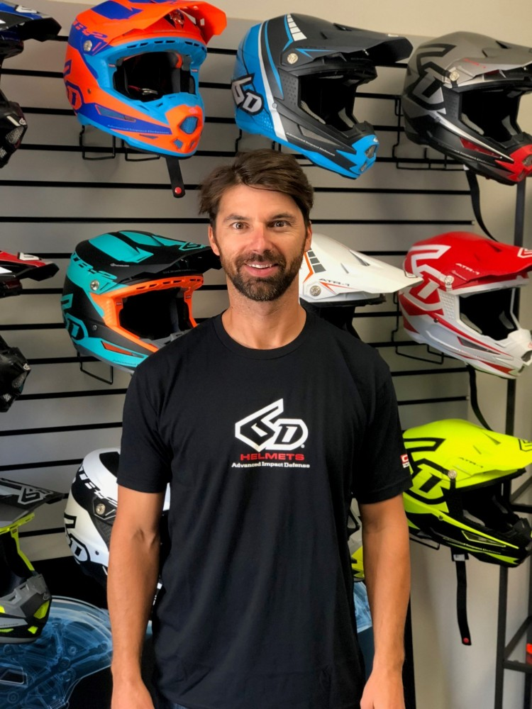 Andreas Hengstberger will oversee all domestic and international sales activities for 6D Helmets.