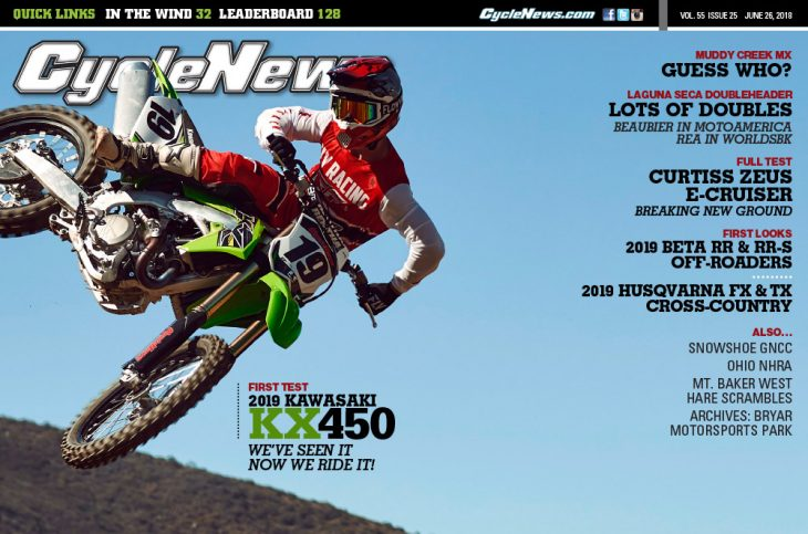 Cycle News current issue
