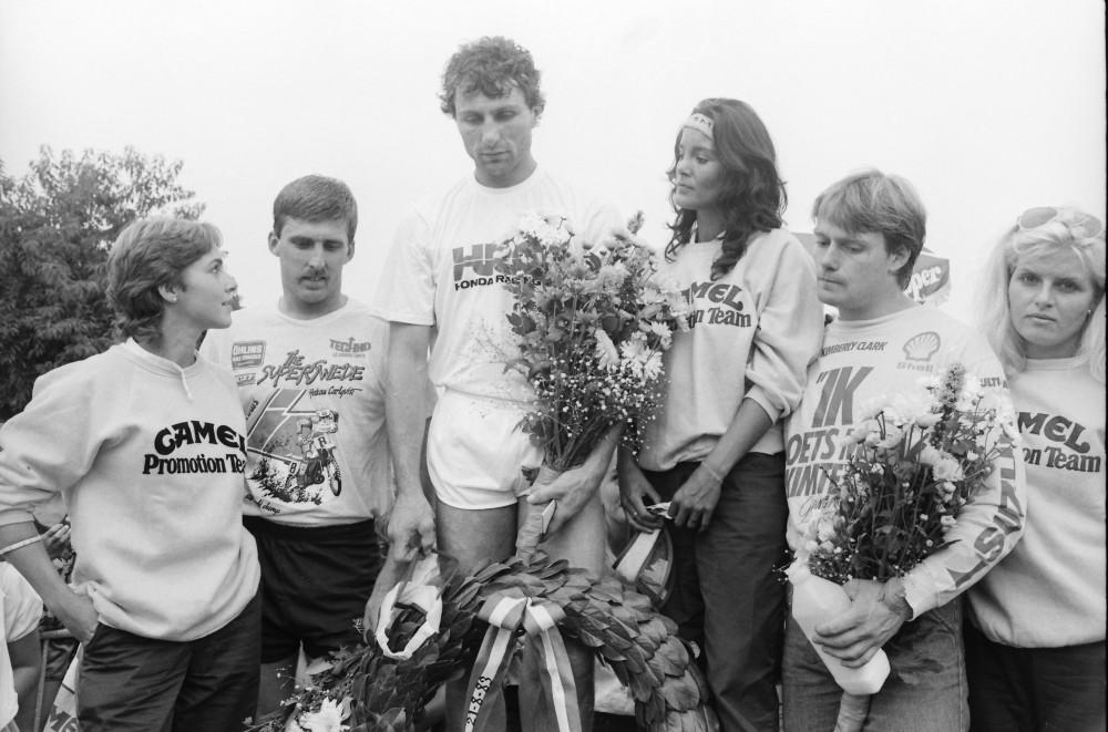 1983 Dutch 500cc MXGP podium