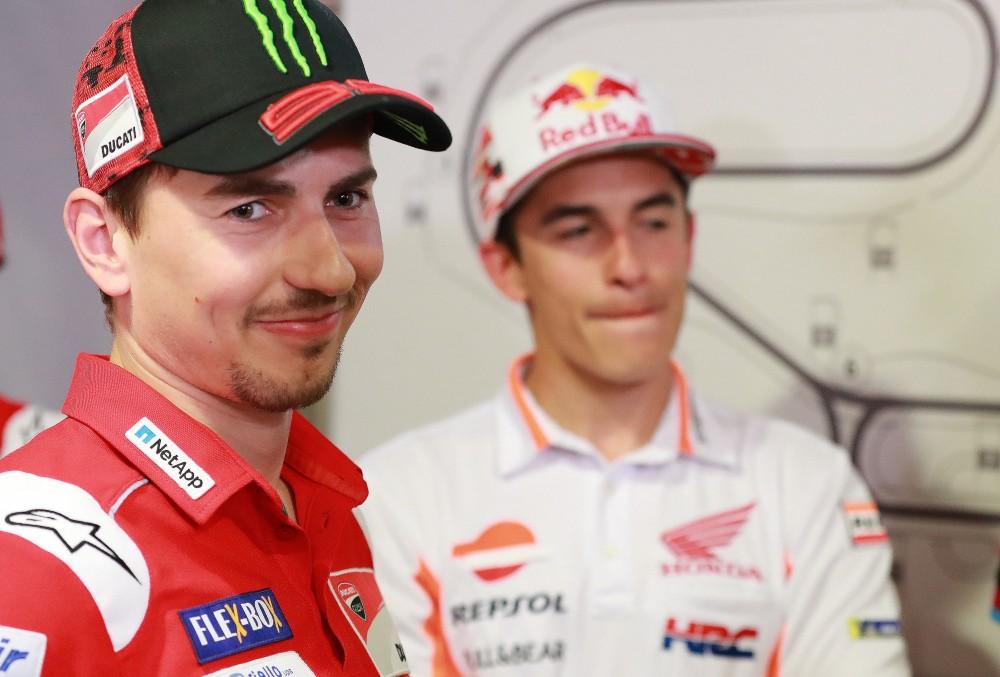 Lorenzo and Marquez in Repsol Honda next year.