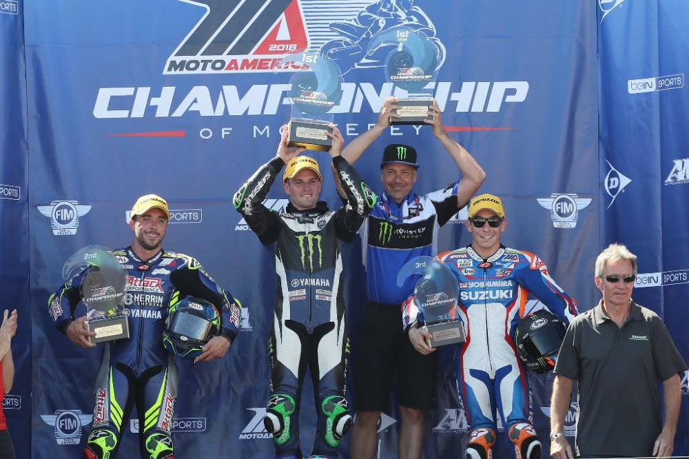 Laguna_MotoAmerica_Race1_podium_2018