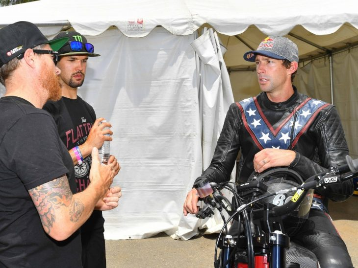 Travis Pastrana Gearing Up For Evel Knievel Tribute Jumps