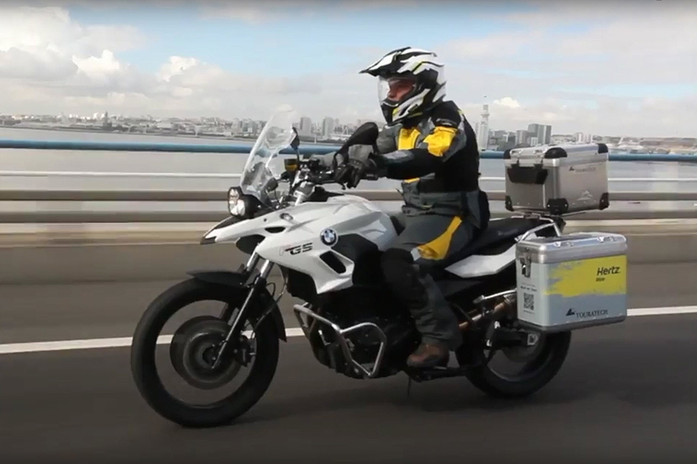 Cardo Systems PACKTALK Available for Hertz Bike Rentals in Spain, France and Italy