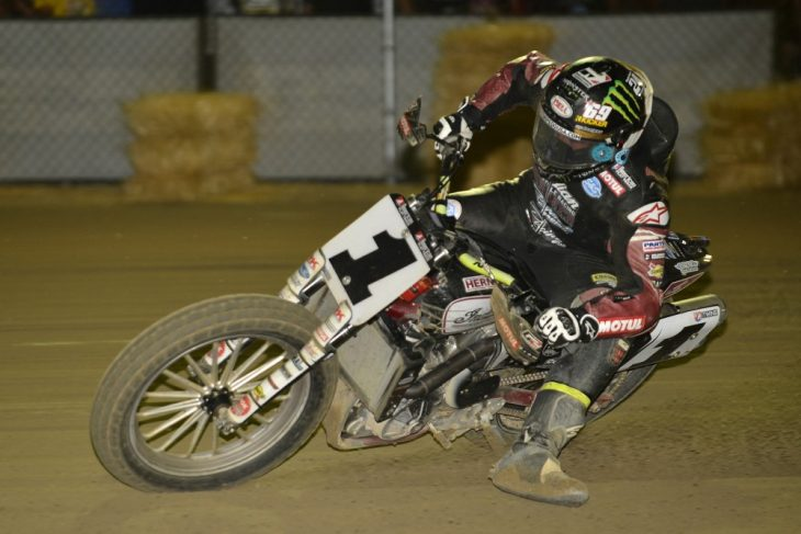 Jared Mees struck back at Lima.