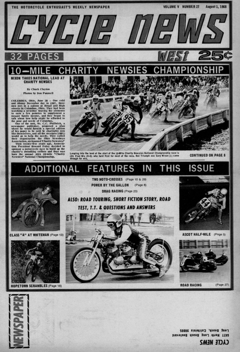 Cycle News Archives, issue 27, 1968