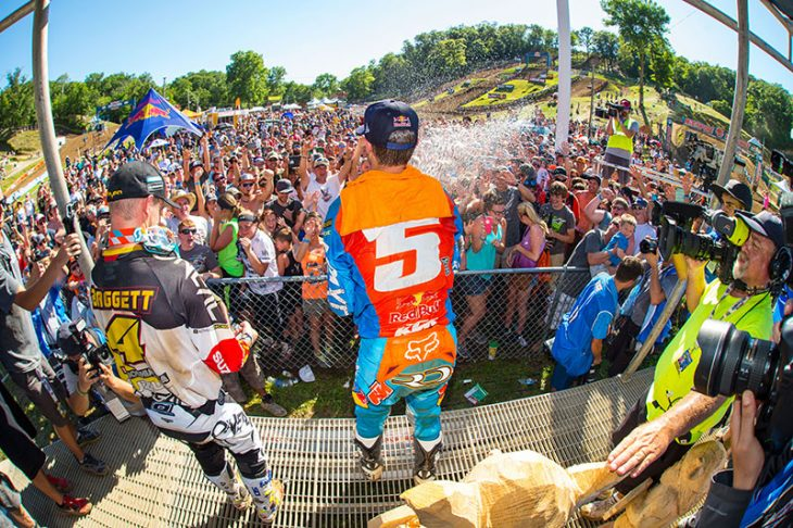 Ryan Dungey will be Grand Marshal of the 2018 Spring Creek National in front of his home-state fans in Millville, Minnesota.