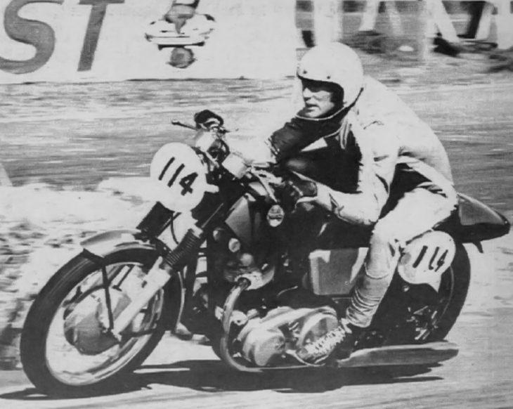 George Kerker road racing in Southern California in 1968