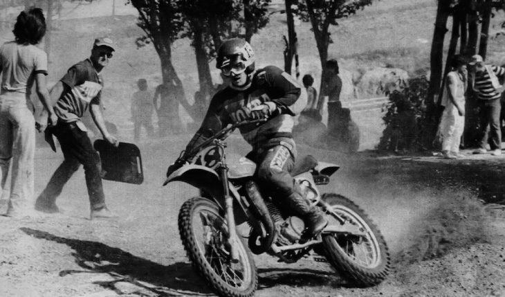 Jimmy Ellis High Point National MX 1978