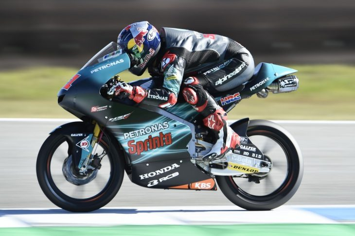 Sasaki in Moto3. Team will step up to MotoGP.