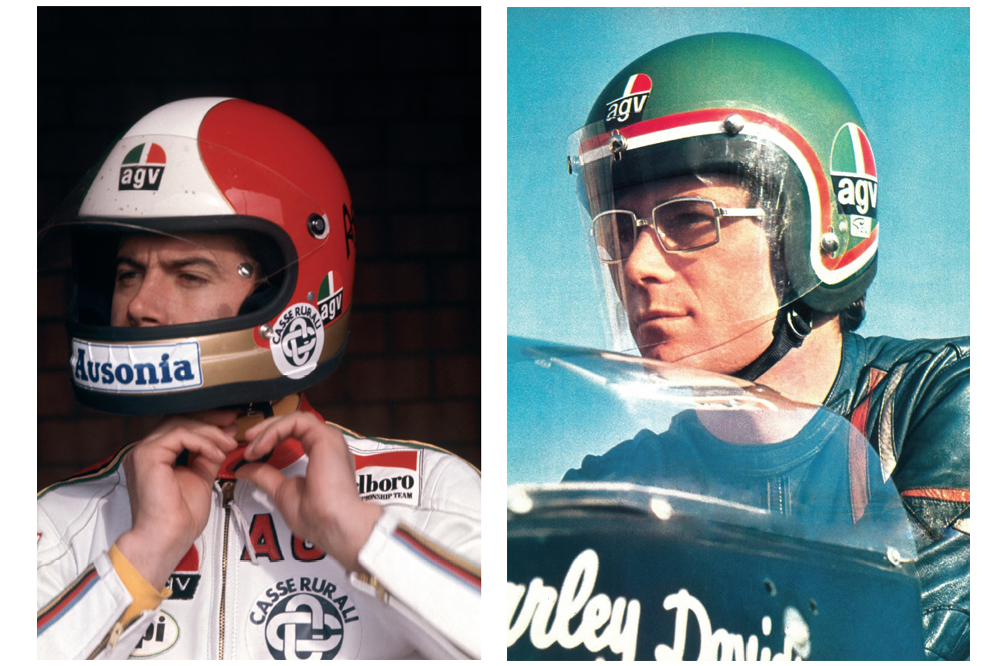Giacomo Agostini and Renzo Pasolini
