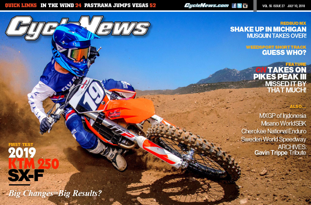 Cycle News magazine #27, July 10