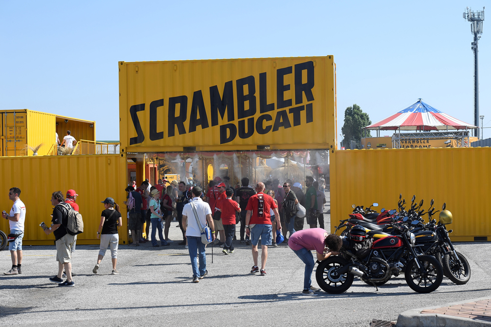 Live music, live radio, hot air balloon rides will be some of the activities in Scrambler Village.