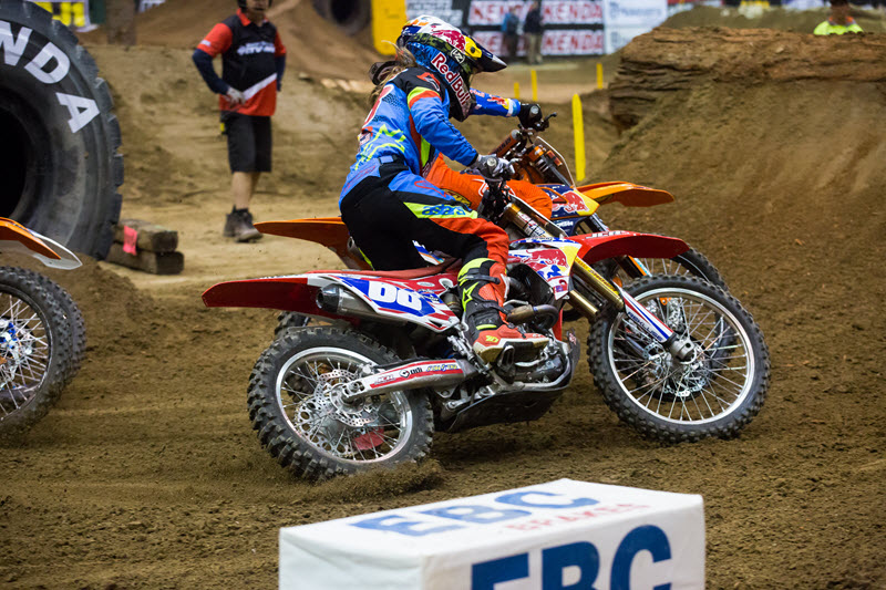 EnduroCross obstacles require a lot of finesse and quality brakes are a requirement. EBC is the number one brake pad brand due to high quality and performance.