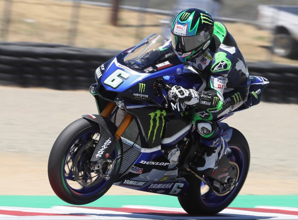 Cameron Beaubier brings a 29-point lead to Utah Motorsports Campus in the MotoAmerica Motul Superbike Championship as the series begins its second half. Photo by Brian J. Nelson