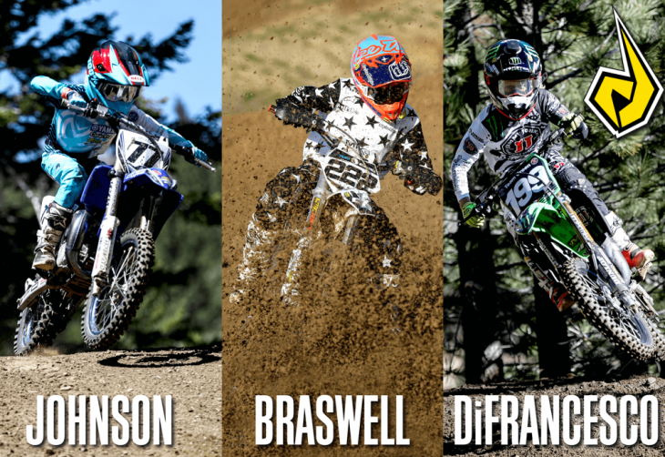 All of the U.S. riders competing in this year's FIM World Junior Motocross Championship will race on Dunlop tires.
