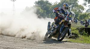 Sunderland Gets It Started at Dakar Rally