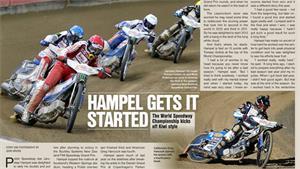 Hampel Gets It Started