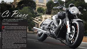 2013 Moto Guzzi California 1400 Custom: FIRST RIDE