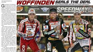 Tai Woffinden Crowned 2013 World Speedway Champion