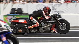 NHRA: Andrew Hines With The Win In Jersey