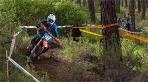 Knight Leads The Way At Idaho City ISDE Qualifier