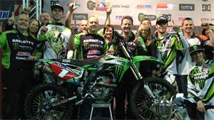 Bowers Wraps Up Third Arenacross Title