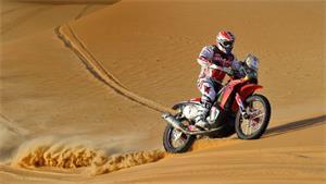 Paulo Goncalves And Honda Win Abu Dhabi Desert Challenge