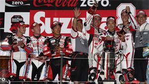 MuSASHi RT HARC-PRO win the 2014 Suzuka 8 Hour