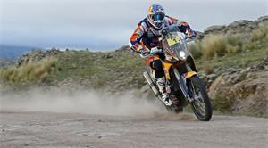 Coma Steps Up, Barreda Still Leads Dakar Rally