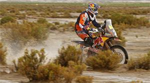 Coma Takes Control After Wild Day in Dakar