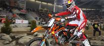 Johnson, Bowers Top Wilkes Barre Arenacross