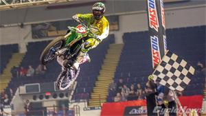 AMA Arenacross: Zach Ames Leaves Milwaukee With Points Lead