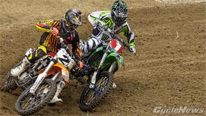 Bowers, McDade Split AX Wins In Opener