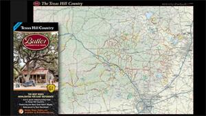 Product Showcase: Butler Maps' Texas Hill Country, 3rd Ed.