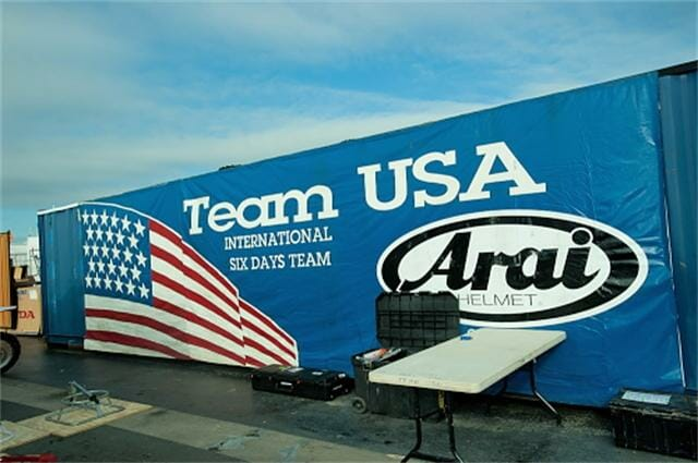 Team USA arrives in Germany for the 2012 ISDE.