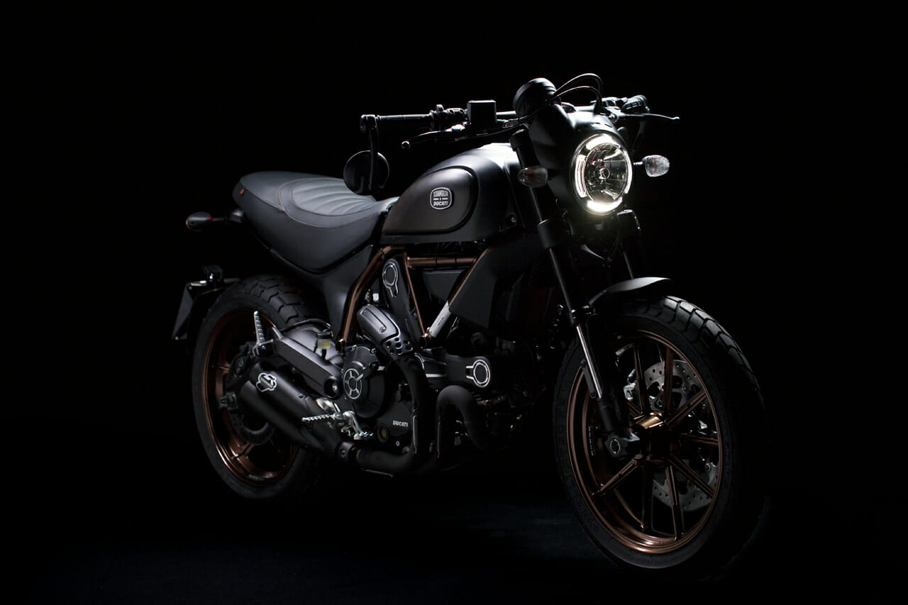 Ducati Launches Scrambler Italia Independent