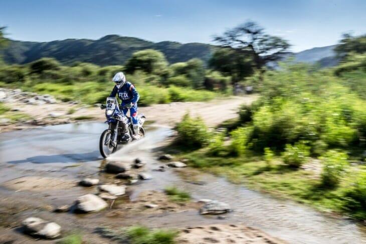 Adrien Van Beveren Factory Yamaha Dakar Rally Stage 12
