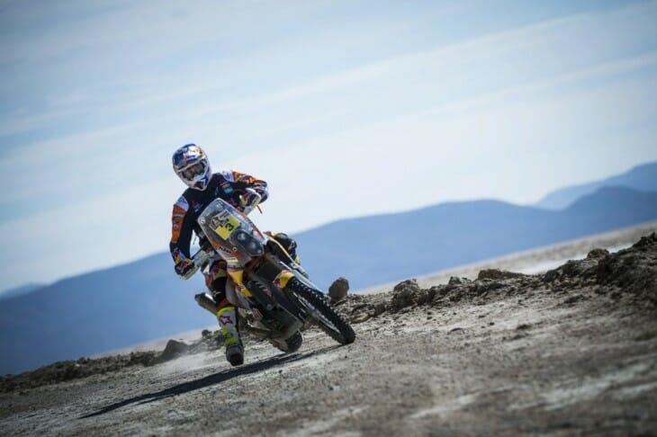 Toby Price Red Bull KTM Dakar Rally Stage 6